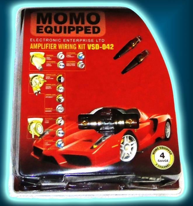 Набор проводов для усилителя MOMO M-2.04 (М-042)