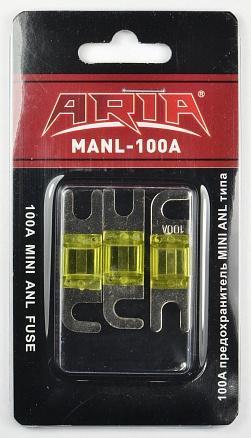 Предохранитель плоский 100А  Aria MANL за 1 шт