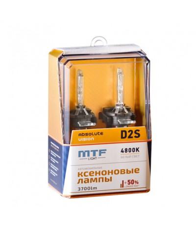 Ксеноновые лампы MTF Light D2S Absolute Vision 4800K +50%