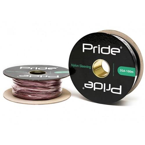 Защитная кабельная оплетка Pride NS2GA черная, красная
