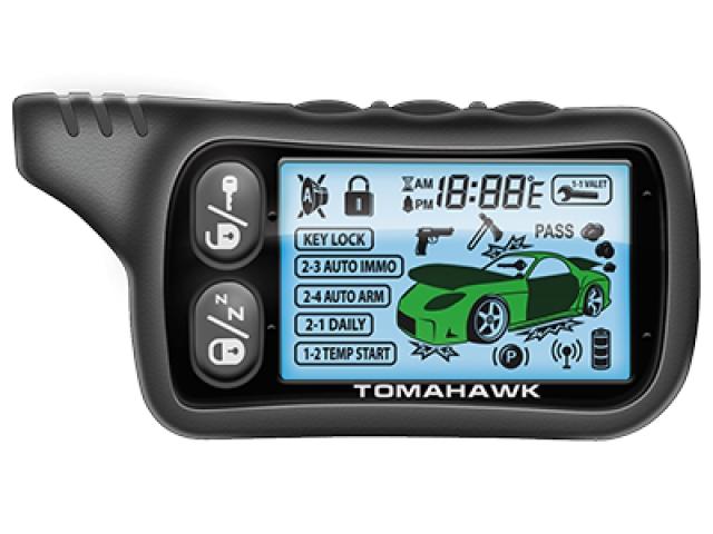 Брелок пейджер TOMAHAWK TZ-9030