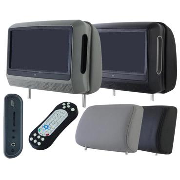 Автомобильный монитор-подголовник Intro CDH-93 DVD 9