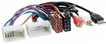 INTRO ISO HY 03A  Hyundai IX-35, Solaris, KIA Sportage10+ (AUX+USB)