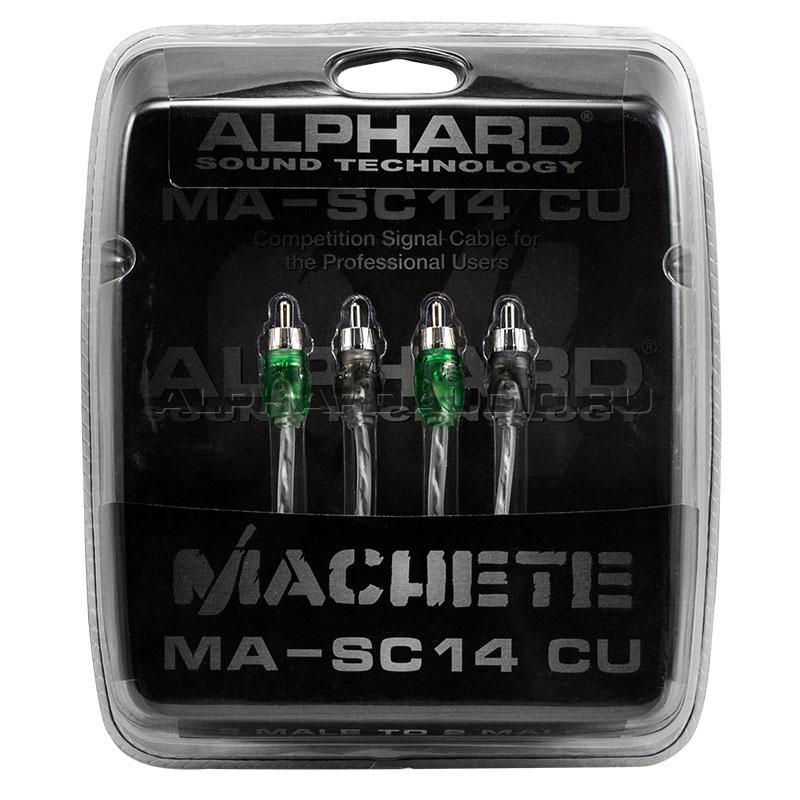 Межблочный кабель Alphard Machete MA-SC14CU