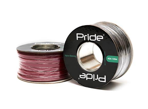 Защитная кабельная оплетка Pride NS4GA красная