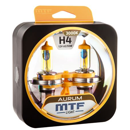 Лампа галогенная H4 Aurum MTF Light