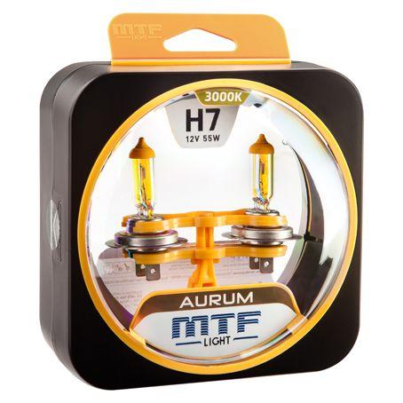 Лампа галогенная H7 Aurum MTF Light