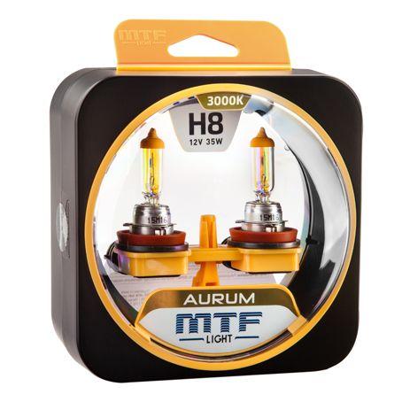 Лампа галогенная H8 Aurum MTF Light