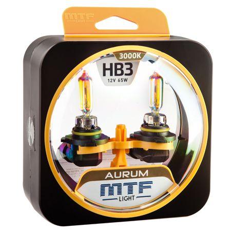 Лампа галогенная HB3 Aurum MTF Light