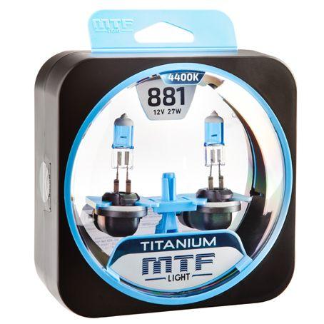 Лампа галогенная H27/2 Titanium MTF Light