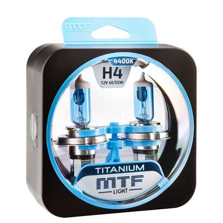 Лампа галогенная H4 Titanium MTF Light