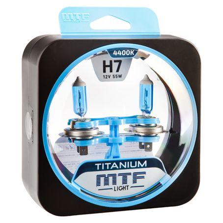 Лампа галогенная H7 Titanium MTF Light