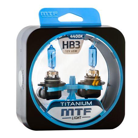 Лампа галогенная HB3 Titanium MTF Light