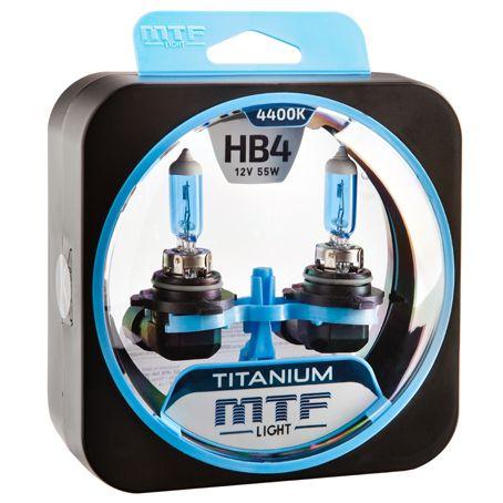 Лампа галогенная HB4 Titanium MTF Light