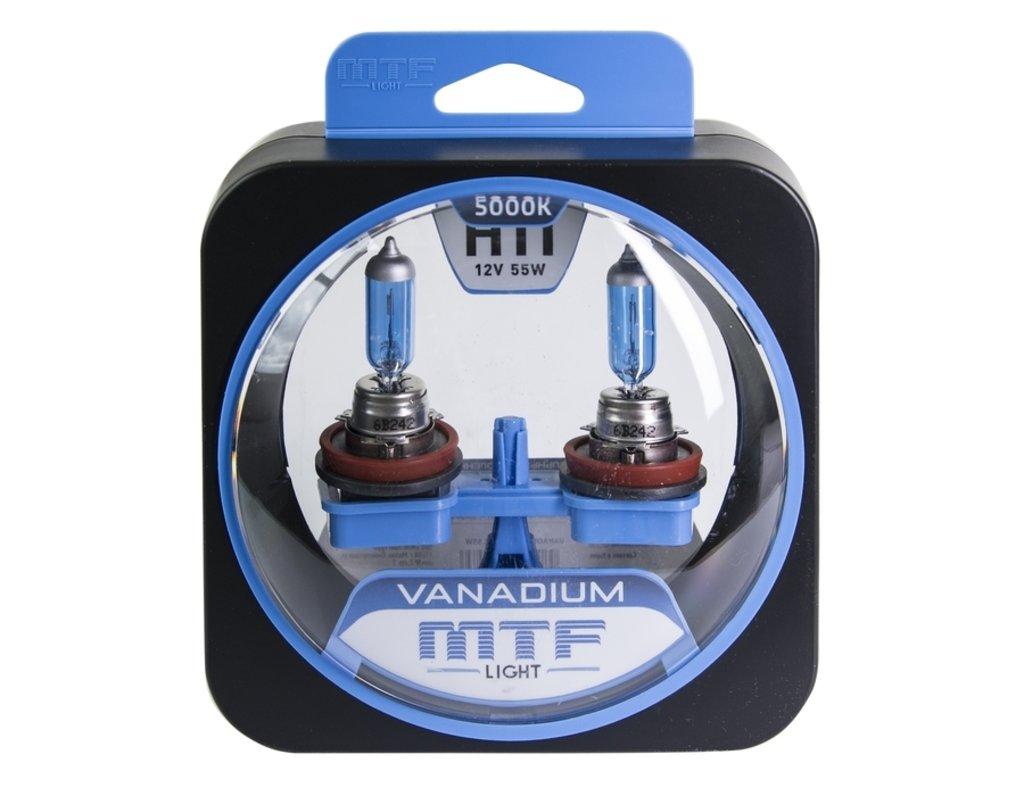 Лампа галогенная H11 Vanadium MTF Light