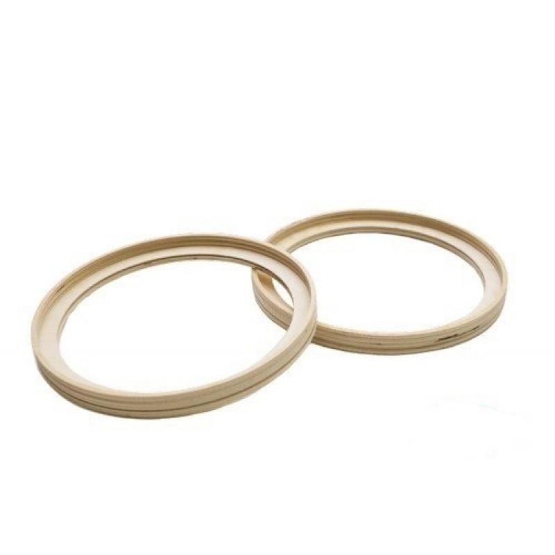Кольцо проставочное фанера 20 см с выемкой (пара)