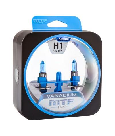 Лампа галогенная H1 Vanadium MTF Light