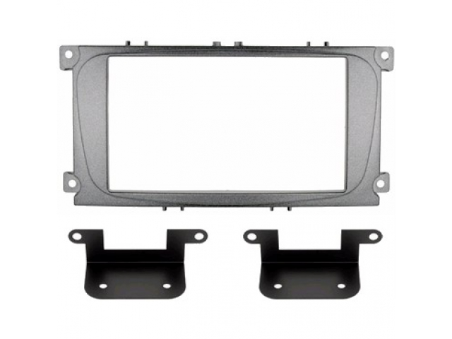 INTRO RFO-N15S (Ford Focus-2 restsl, Mondeo 07+, S-Max, Galaxy new 2DIN silver (крепеж)
