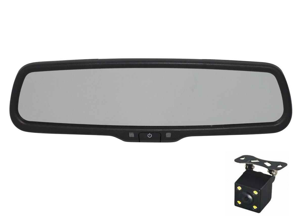 Зеркало видеорегистратор Redpower MD50 (с камерой)1 ножка крепления и 1 плафон под камеру на выбор