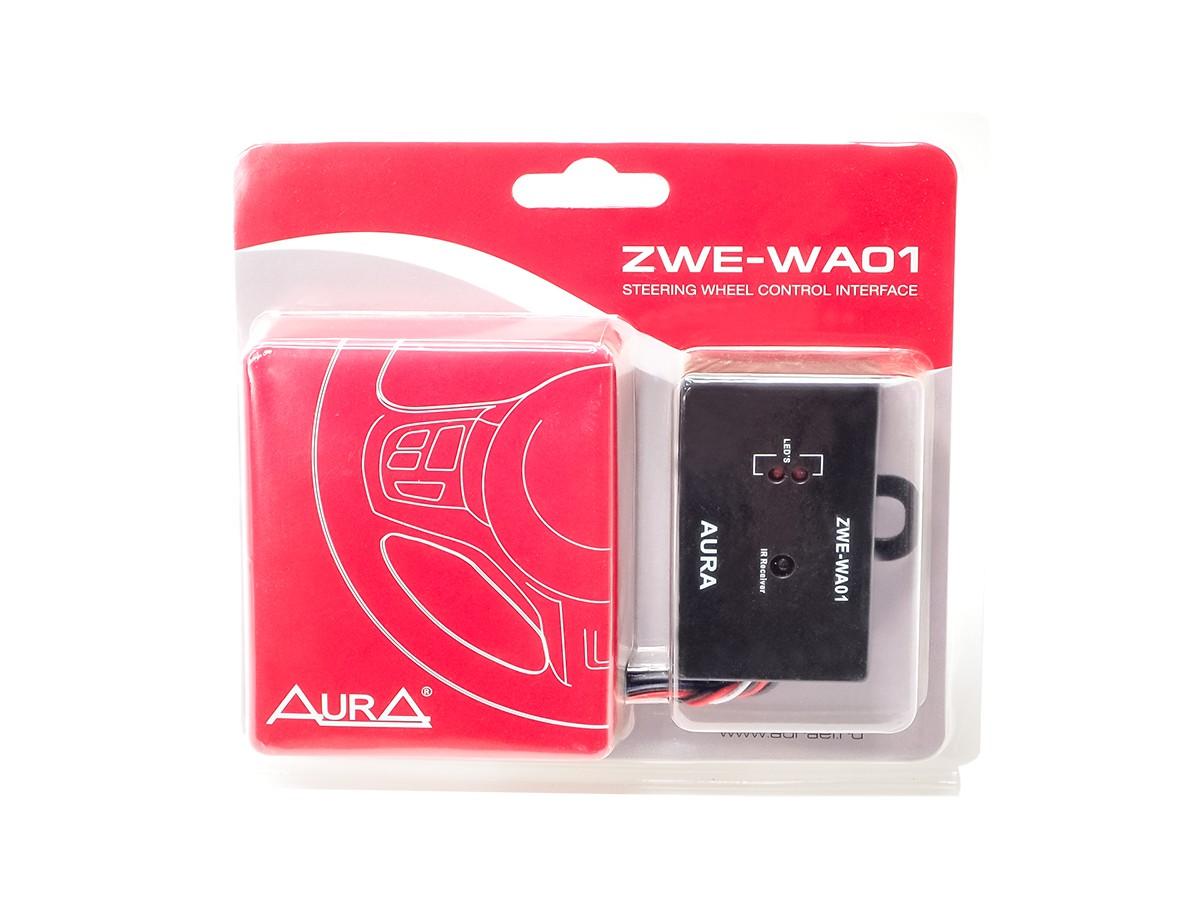 Адаптер кнопок на руле AURA ZWE-WA01