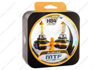 Лампа галогенная HB4 AURUM MTF Light