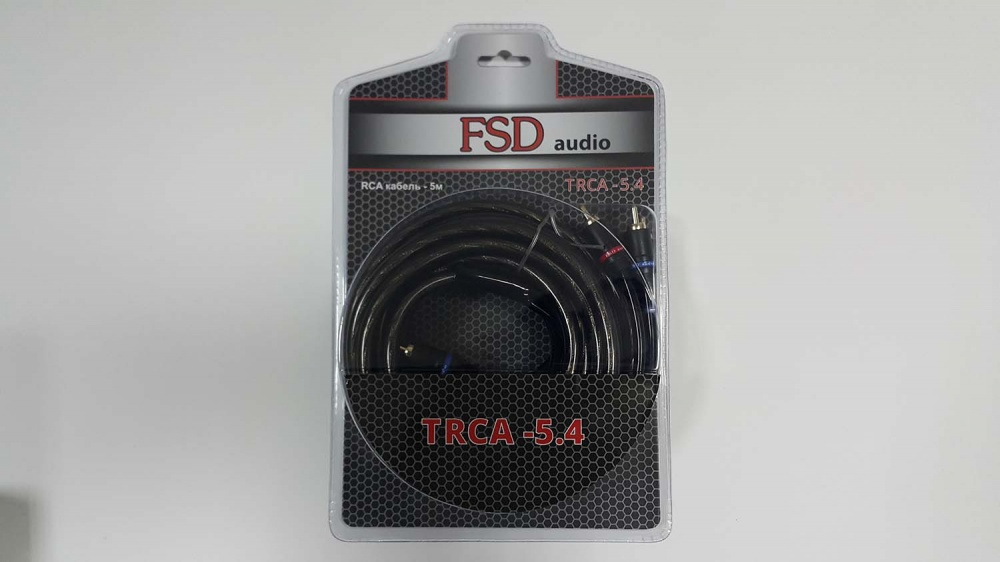 Межблоч. кабель FSD audio TRCA-5.4