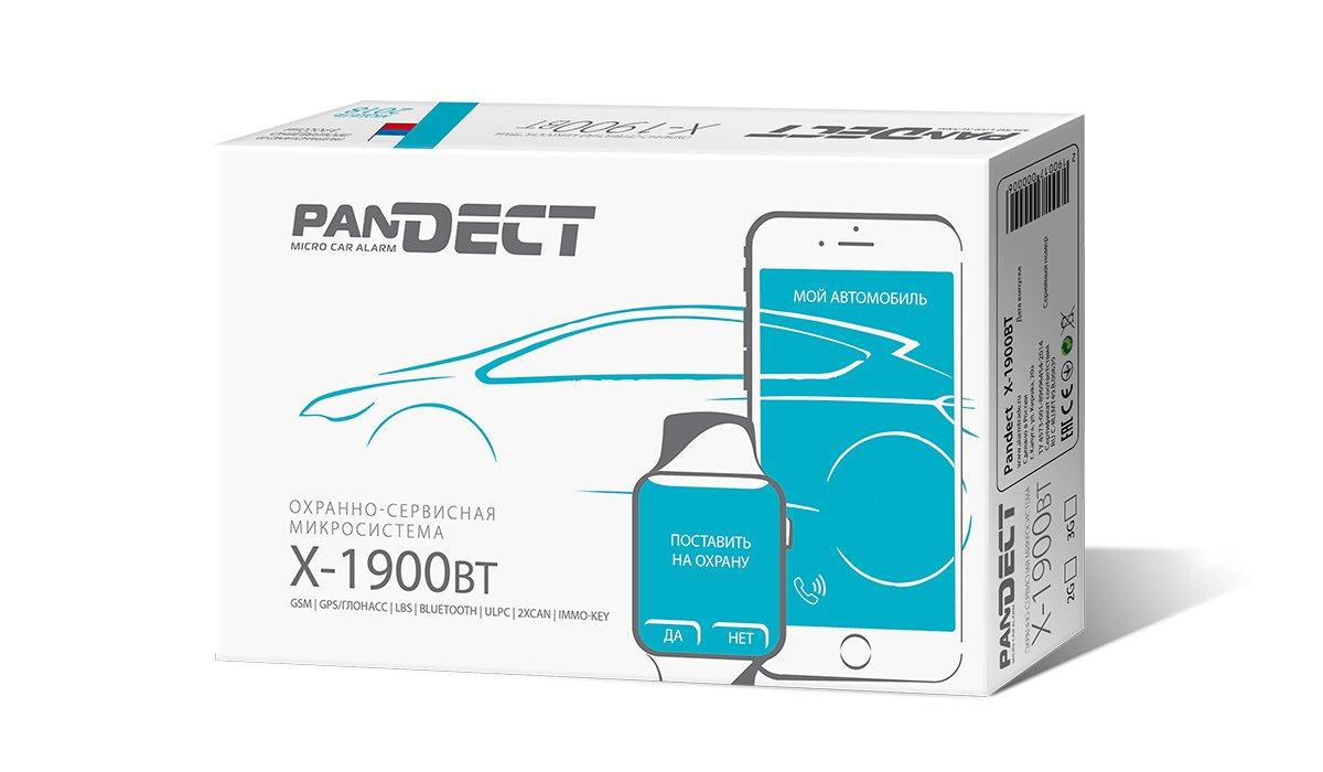 Охранно-противоугонная система Pandect X-1900 BT