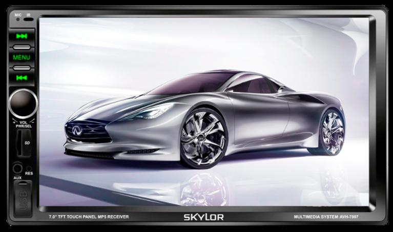 SKYLOR AVH-7007 2din Slim