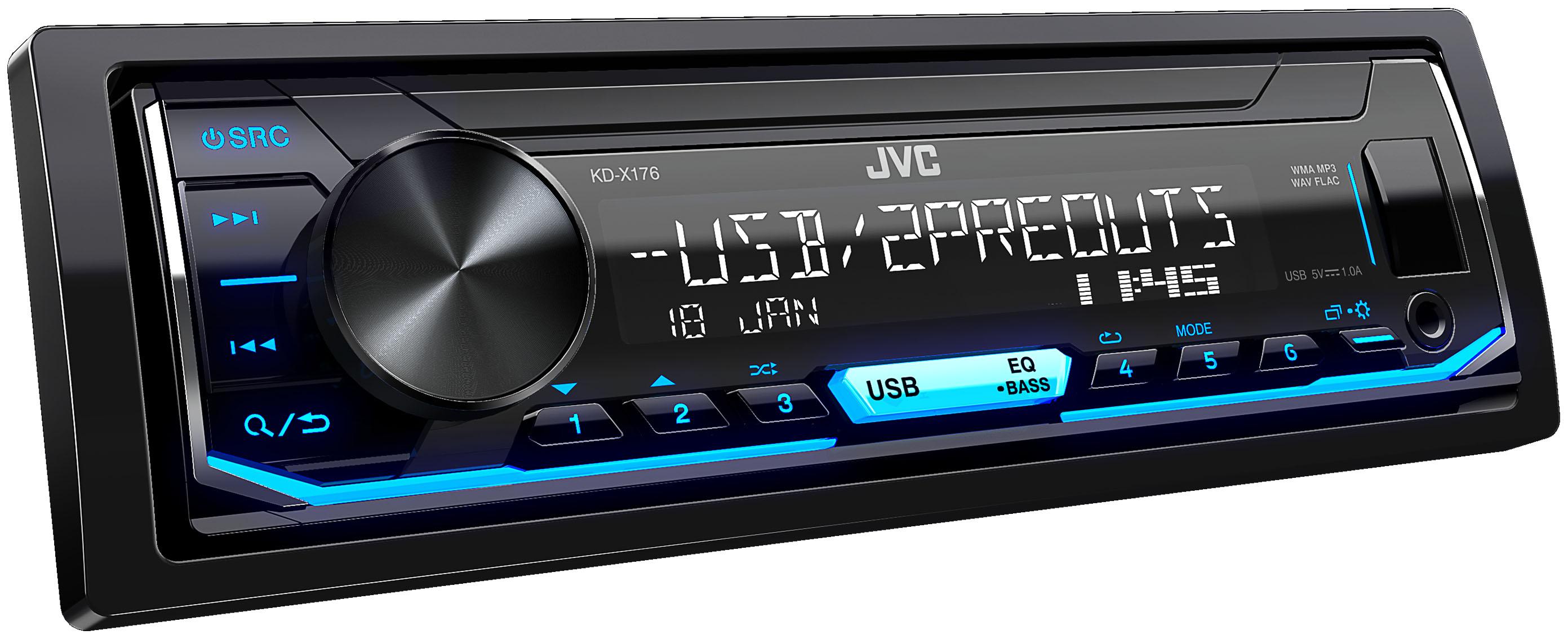 USB-ресивер JVC KD-X176