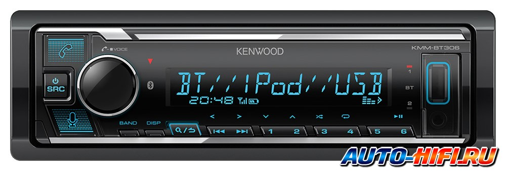 USB ресивер Kenwood KMM-BT306