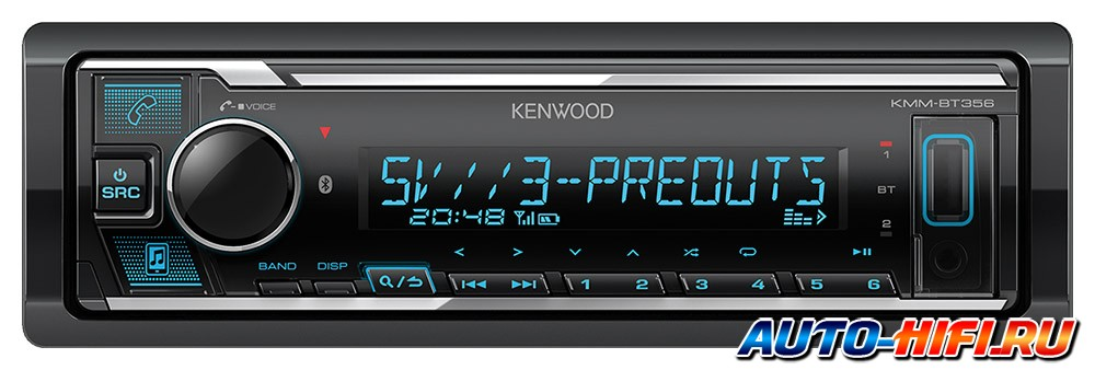 USB ресивер Kenwood KMM-BT356