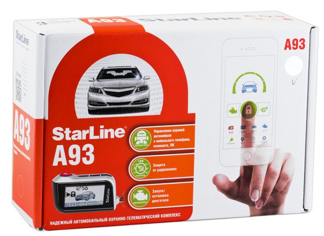 Автосигнализация Star Line А93