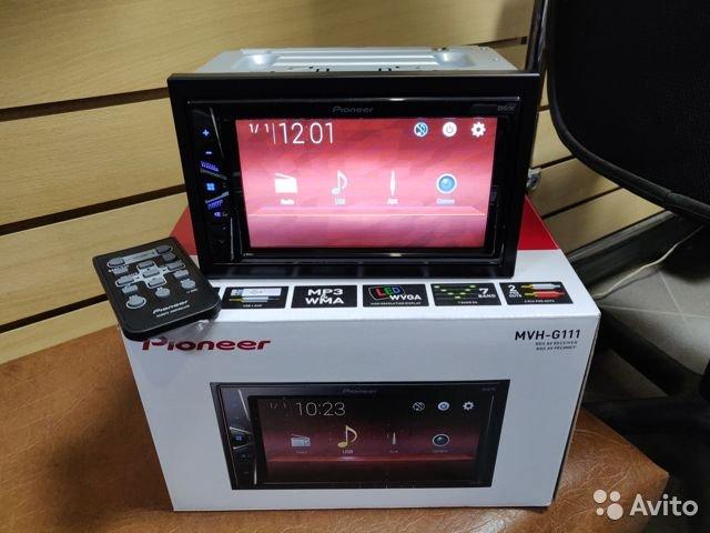 2 DIN Pioneer MVH-G111