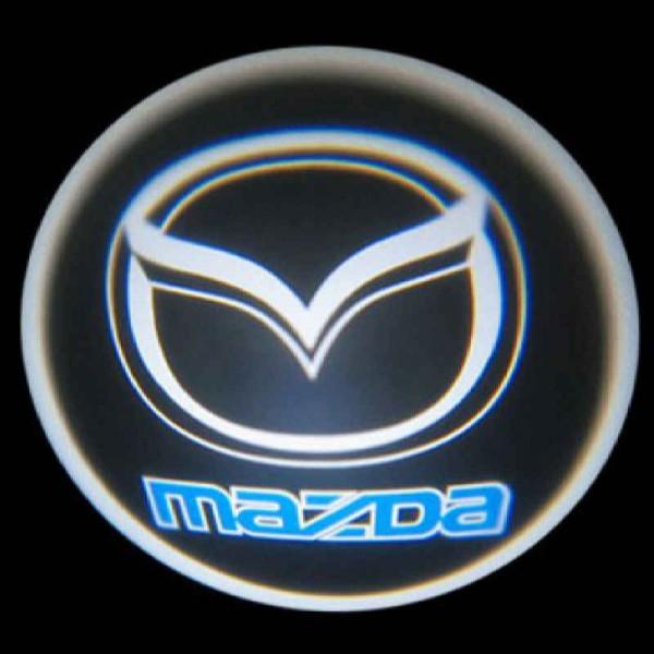 Подсветка дверей Мазда