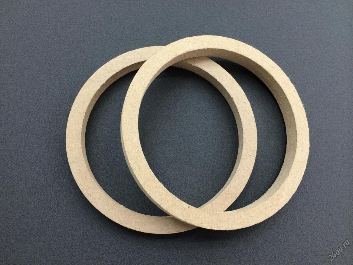 Кольцо переходное с выемкой  17 см (пара)
