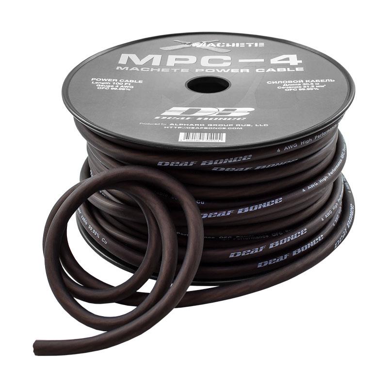 Силовой кабель MPC-4GA black