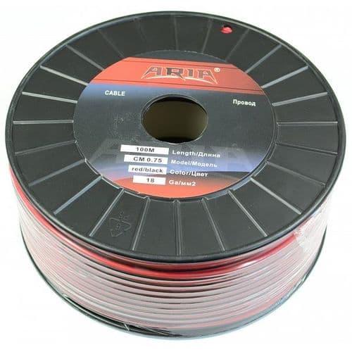 СМ 075 красный/черный 100 метров (ARIA)