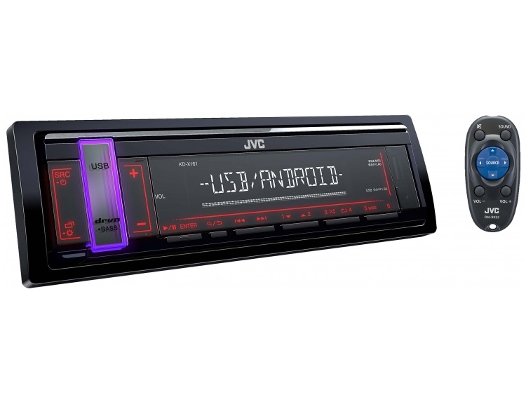 USB-ресивер JVC KD-X161