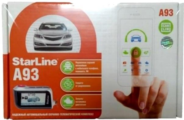 Автосигнализация Star Line А93 2CAN+2LIN