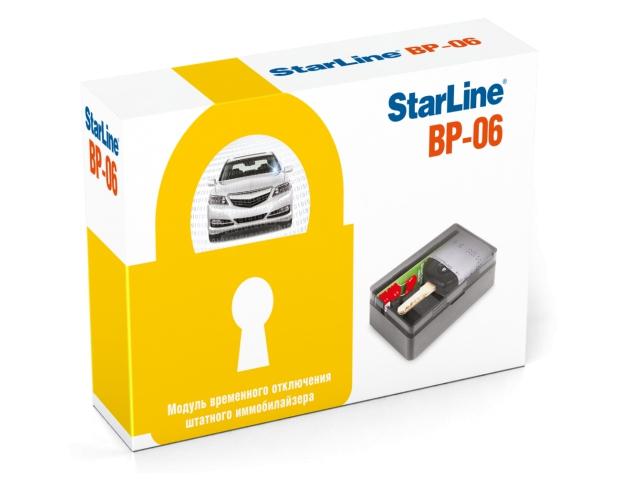 STAR LINE ВР6 (модуль обхода штатного иммобилайзера)
