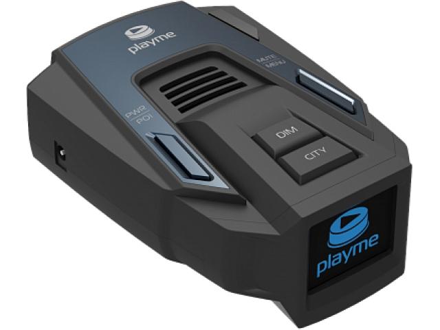 Антирадар Playme Silent GPS LED дисплей 1,3. Сигнатурный режим.