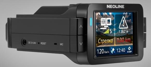 Гибрид радар-детектора и видеорегистратора Neoline X-COP 9000