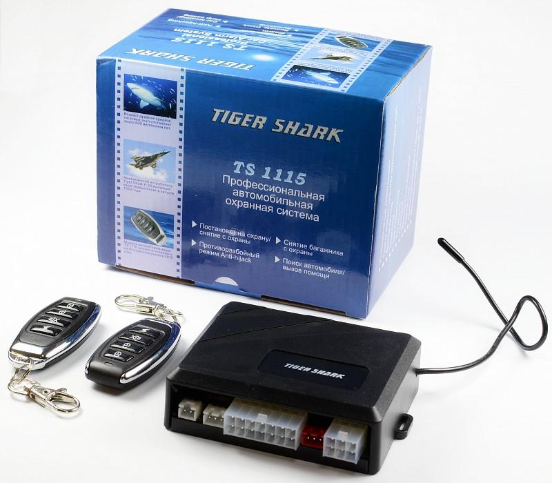 Автосигнализация TIGER SHARK TS-1115