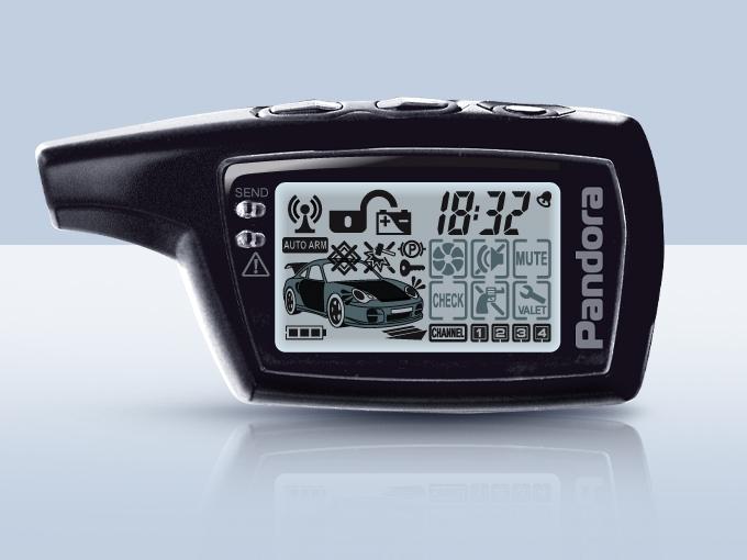 Брелок Pandora  LCD D073 DXL 3210|3500|3700|3250|3290