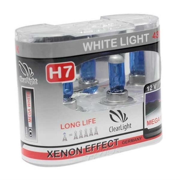 Лампа H1(Clearlight)12V-55W WhiteLight (2 шт.)
