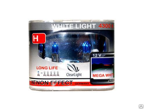 Лампа H27(Clearlight)12V-55W WhiteLight (2 шт.)