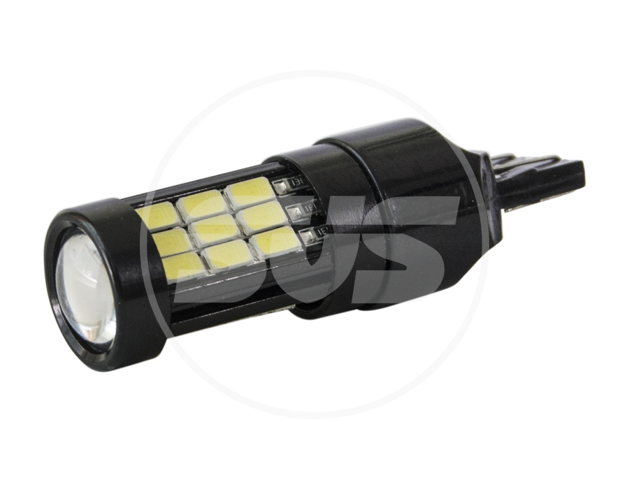 SVS. Светодиодные лампы 0240342000 W21/5W (7440) 29 диодов с линзой свет Белый