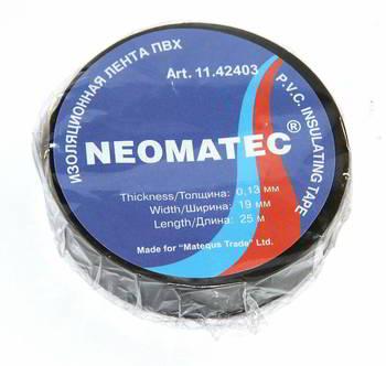 Изолента ПВХ Neomatec 19х25мм
