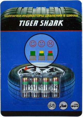 Колпачки-индикаторы давления в шинах TIGER SHARK TPC-20