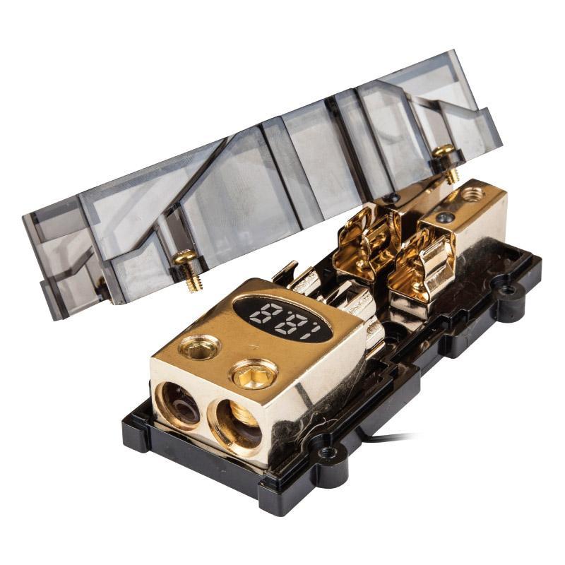Дистрибьютор питания KICX DAG0224G с вольтметром